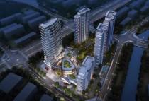 黄桥数字金融街区预计2023年交付使用