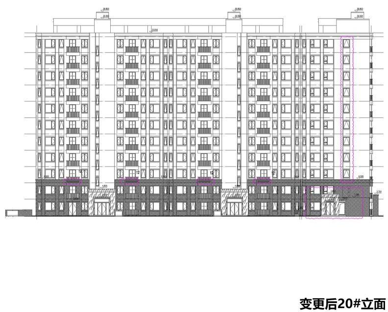 苏地2020-WG-59号地块项目(锦绣雅著花苑)规划变更许可批后公布(图3)