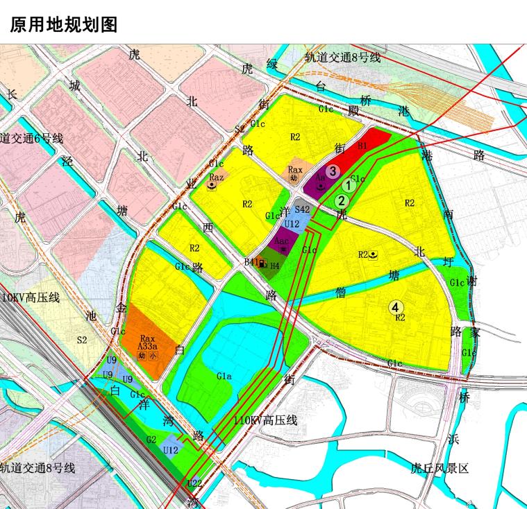 金阊新城ZC-a-010-08单元控制性规划调整(图1)
