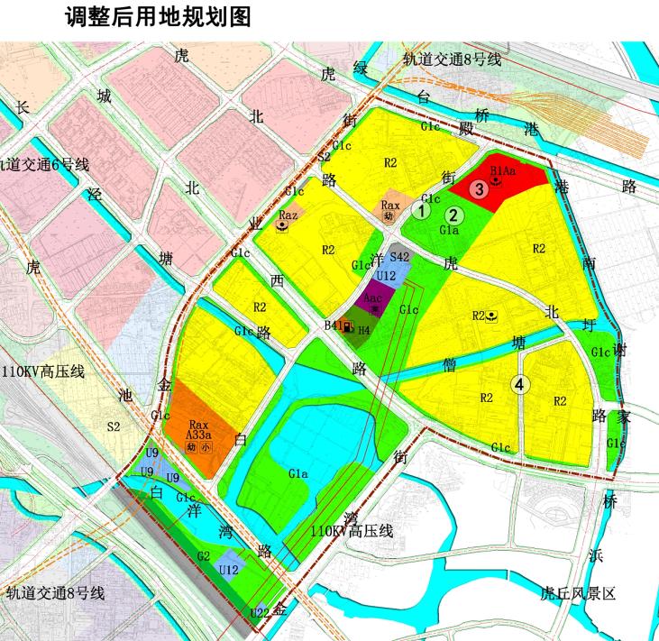 金阊新城ZC-a-010-08单元控制性规划调整(图2)