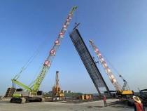 南昌地鐵1號線東延瑤湖東站全面進入車站圍護結構施工階段!