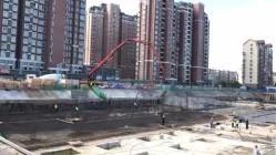 安庆苏宁广场项目南地块全面复工