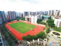 晋江一中足球场改造完毕 将作为晋江2020世中运训练场地