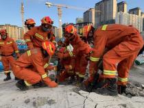 贵阳观山湖区美的置业广场施工地下停车场发生垮塌 失联人员已全部找到