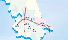 北沿江高铁扬州南北线路已定,哪些楼盘收益?