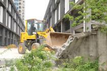 北海海纳百川小区停车场出口被堵两年,业主们终于能收房了!