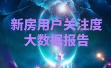 广元新房|4月广元新房用户关注度大数据报告