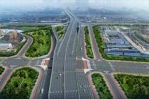 郑州四环高架主线计划6月底通车