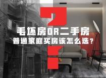 毛坯房OR二手房,普通家庭买房该怎么选?