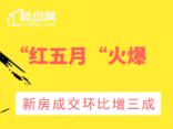 """【楼盘网早报2020.6.06】""""红五月""""火爆,新房成交环比增三成"""