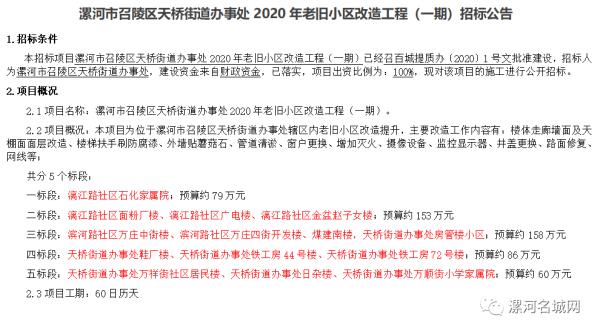 最新消息:漯河这25个老旧小区即将进行改造
