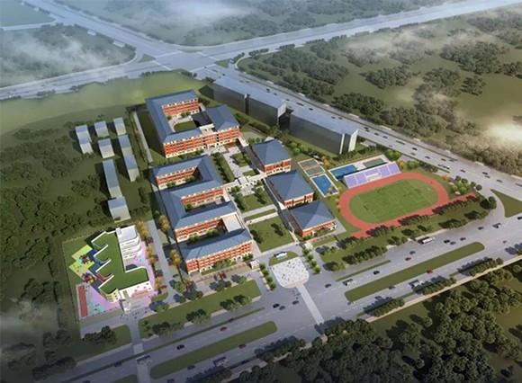 高颜值+双公园,鹅湖小学新校区效果图定稿!