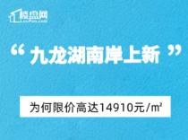 【樓盤網早報2020.9.10】九龍湖南岸上新,為何限價高達14910元/㎡?