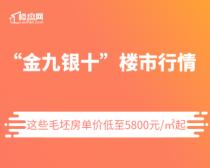 """【楼盘网早报2020.9.12】""""金九银十"""",这些毛坯房单价低至5800元/㎡起"""