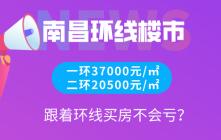 南昌一环37000元/㎡,二环20500元/㎡!跟着环线买房不会亏?