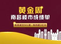 黄金周南昌楼市成绩单:新房成交501套 有的超2亿元