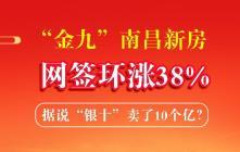 """""""金九""""南昌新房网签环涨38%,据说""""银十""""卖了10个亿?"""
