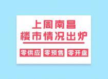 上周南昌楼市情况出炉:零供应、零预售、零开盘!
