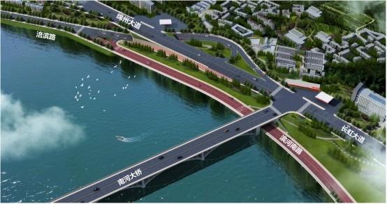 绵阳市滨河南路南河大桥节点优化设计方案通过市规委会审议