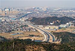 胜陆公路连接杭州湾,试车已经进入倒计时!