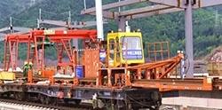 赣深高铁进度:赣州龙南段正在铺轨!预计3月中旬完成铺轨!