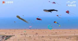 威海首届湾海风筝艺术节圆满落幕!带你领略N种湾海生活方式!