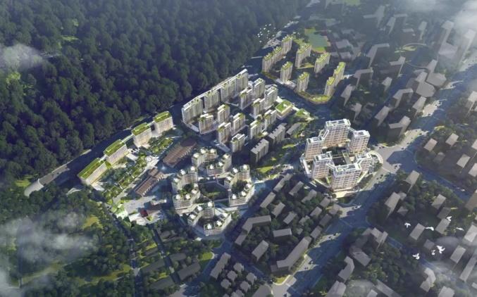 好消息!临海六角井未来社区1#地块规划建筑方案顺利通过评审