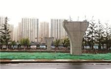 世纪体育公园过街天桥6月底完工