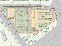 润泽园小区配套中学项目规划方案正式公示 计划开设24个班
