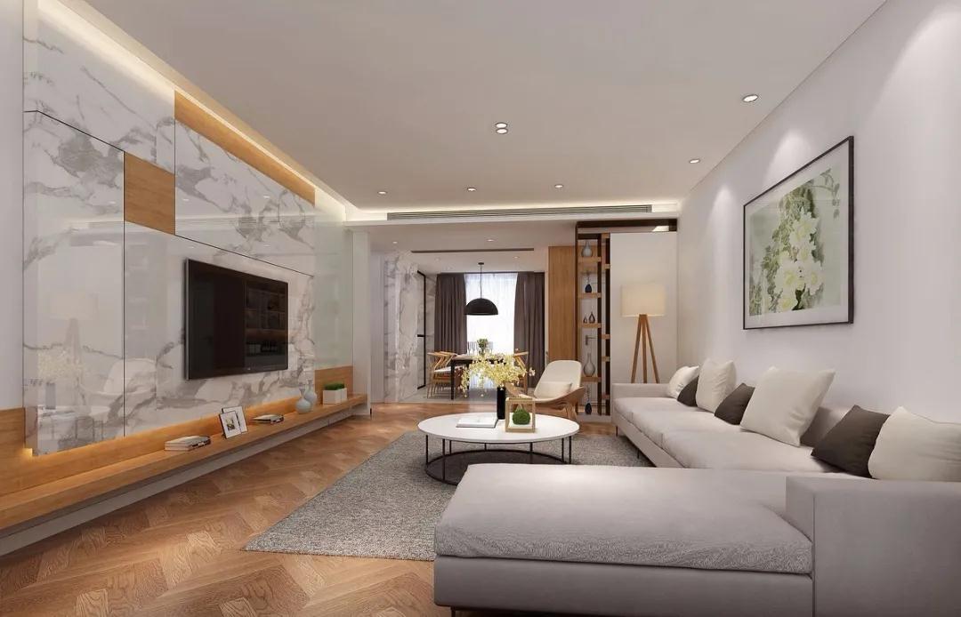 看完这套建面约105㎡户型,我想卖掉自己的115㎡大房!
