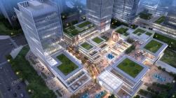 高铁+地铁!前方是绿地湘江城际空间站,你的买房终点站!