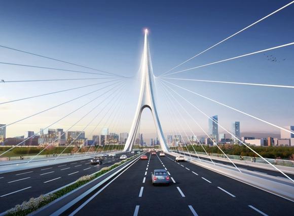 世界最宽大桥在成都开建!为啥这么宽?一起开看