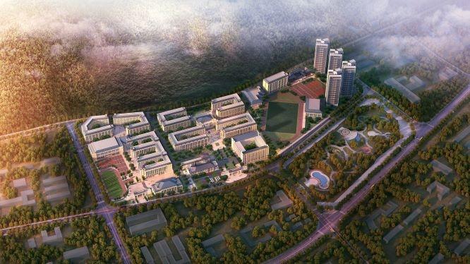 郴州高铁板块新建一所学校,共158个班!