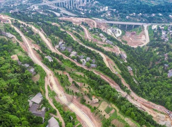 实地探访!莲花山山地运动公园建设稳步推进