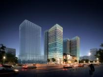 恒福时代商务中心2号楼商务办公建筑方案调整!