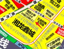 白沙洲湘龙鑫城小学12月施工,投资1.92亿,规划24班,容纳1080人