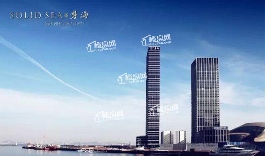 """黄金位置+全景观海 大连磐海引领东港新""""高度"""""""