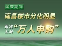 """國慶期間,南昌樓市分化明顯,再次上演""""萬人申購"""""""