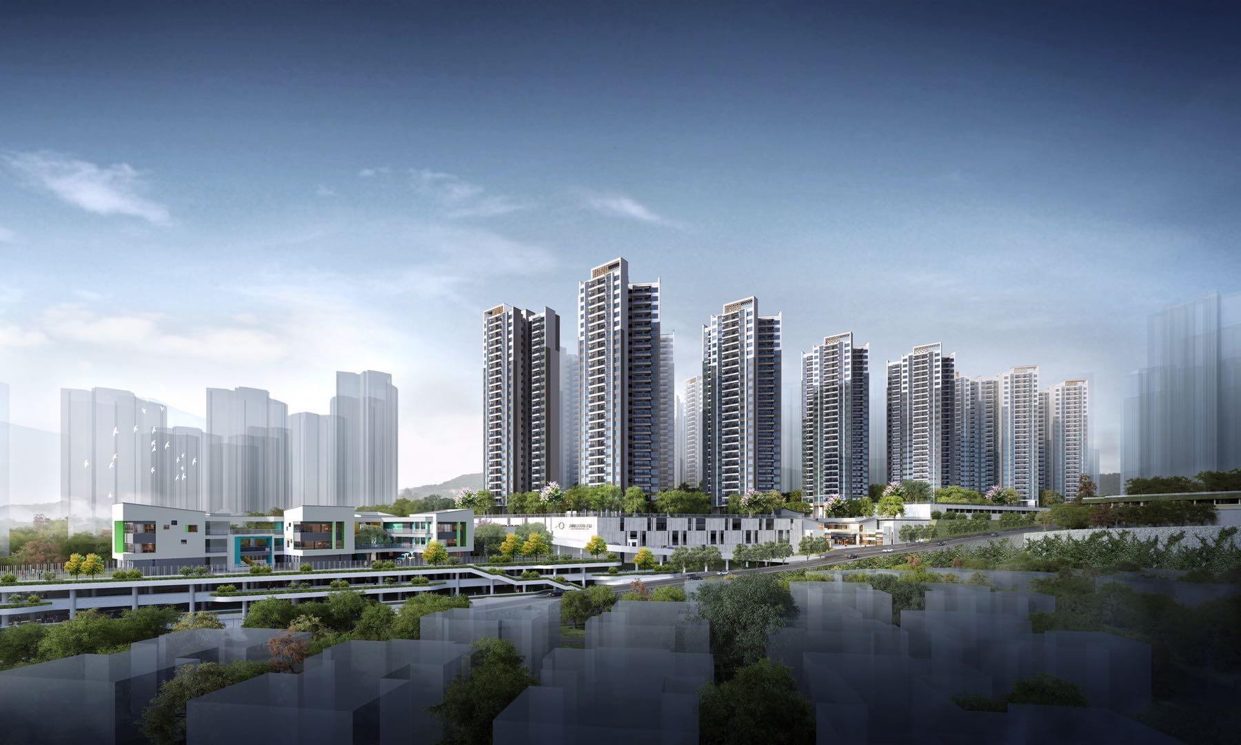 方圓新城天樾花園!惠州北站新城全新項目樾啟而來!