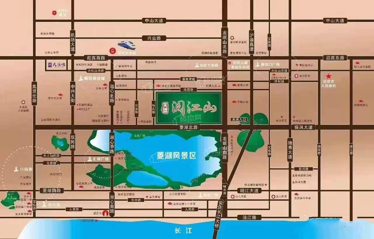 天盟·阅江山位置图