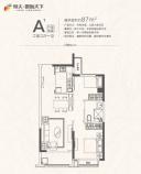 79平二室二厅一卫