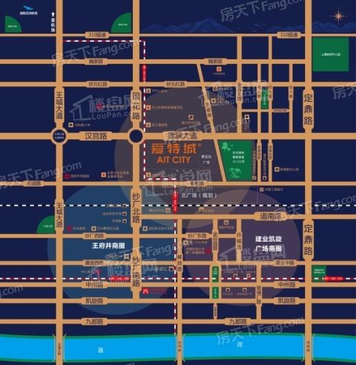 唐合·爱特城交通图
