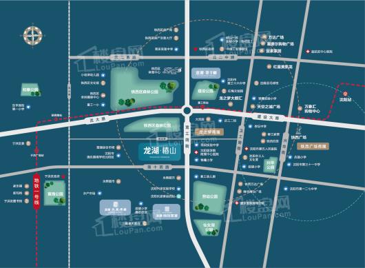 龙湖·椿山交通图