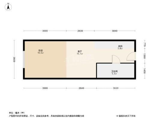 春树广场户型图