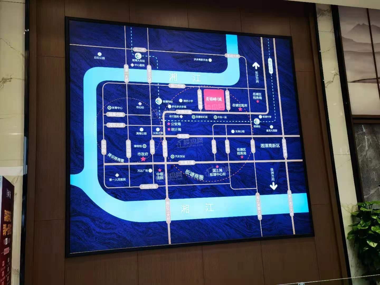天元锦峰城位置图
