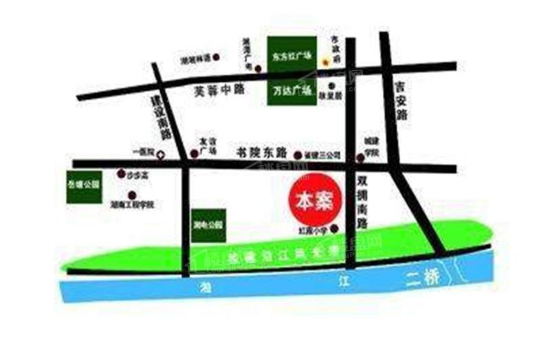 湘江学府位置图