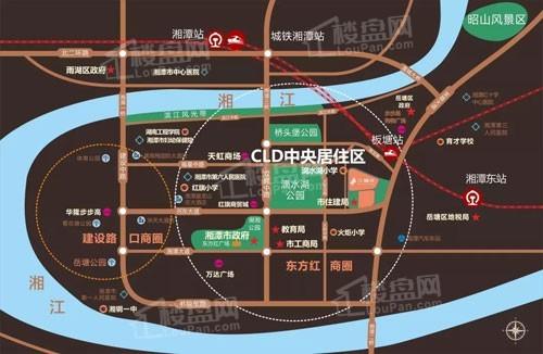 中南旭辉樾府位置图