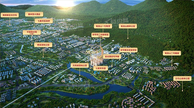 聯華·觀山水位置圖