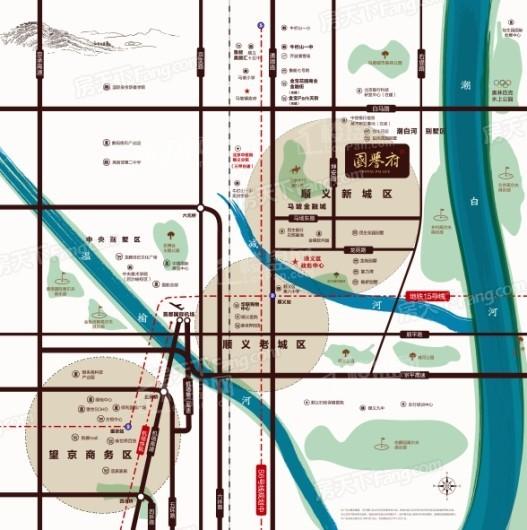 国誉府交通图