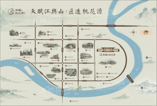 徐福·桃花源交通图